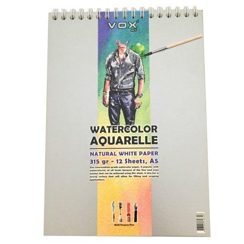 Vox Suluboya Aquarell Resim Defteri A3 315 Gr 12 Sayfa 41 58 Tl