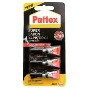 Pattex Süper Japon Mini Trio 1G 3'Lü Blister