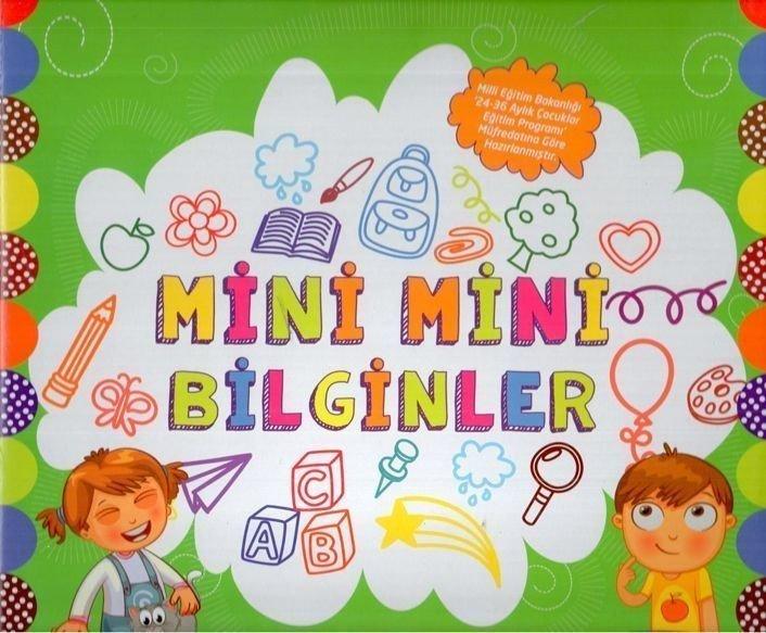 Mor Elma Okul Oncesi Mini Mini Bilginler Egitim Seti 2 3 Yas