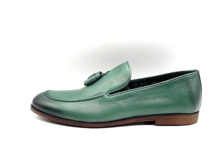 08177d5905ca8 Günlük Erkek Ayakkabı Güvener LB165 Yeşil
