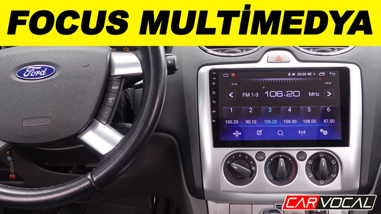 ford focus multimedya sistemi