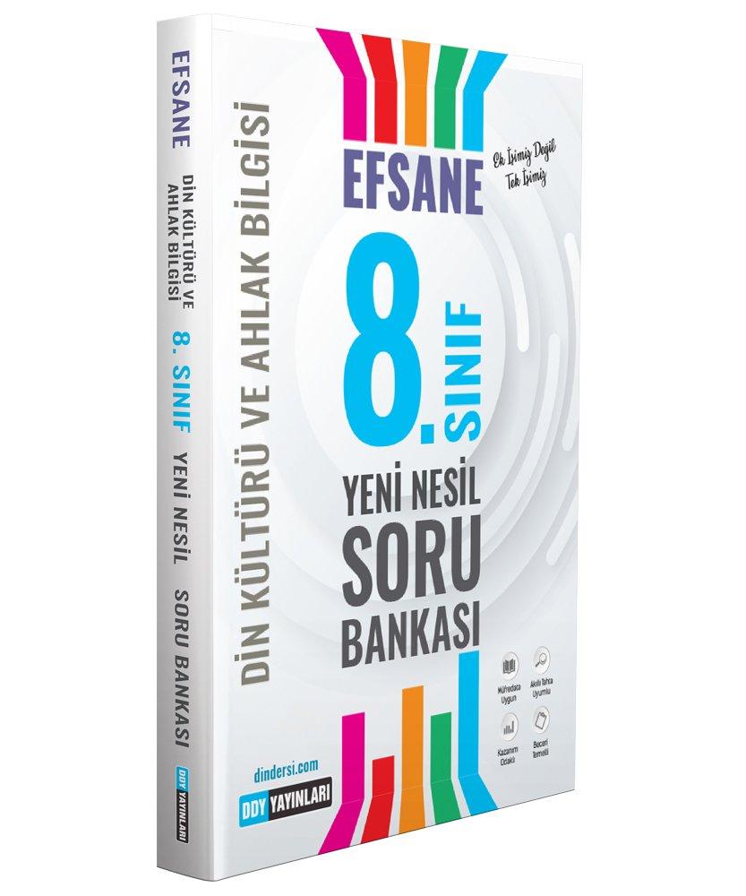 8.Sınıf Din Kültürü Efsane Yeni Nesil Soru Bankası DDY Yayınları