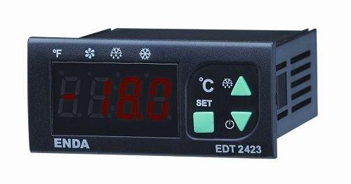 EDT2423-230-R NTC 230VAC Defrost Kontrol Cihazı 77x35