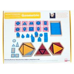 montessori geometrİ setİ montessori ÜrÜnlerİ