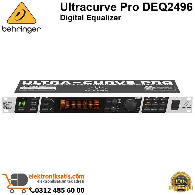 Behringer Ultracurve Pro DEQ2496 Digital Equalizer