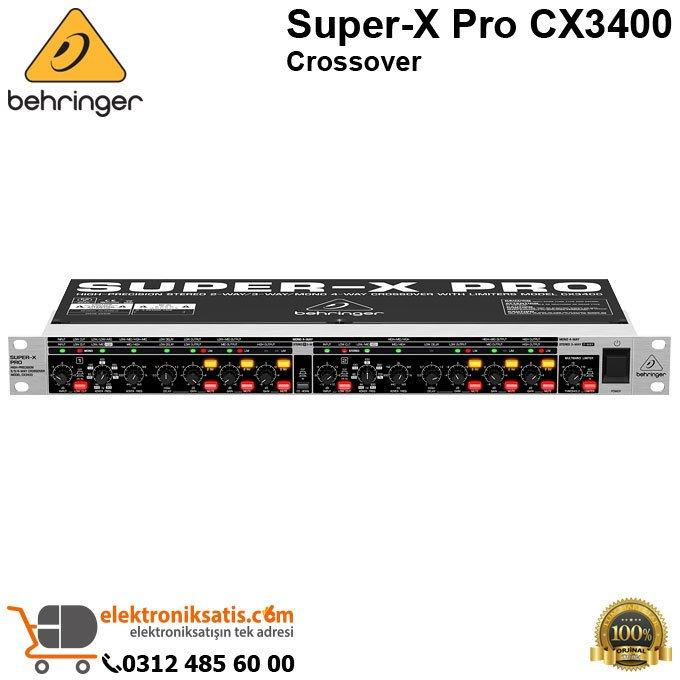 behringer super x pro crossover