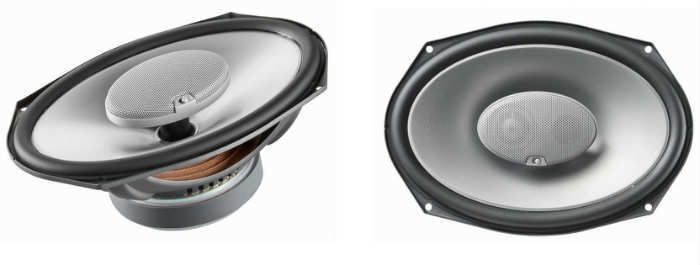 Infinity ref-9623ix 300w max 6=9 3-way car audio speaker with edge-driven, textile tweeters - pair