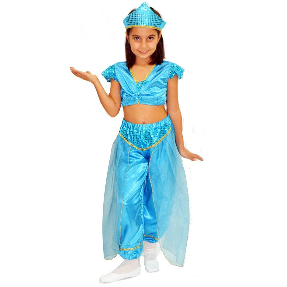 Prenses Yasemin Jasmine Kostümü 3 4 Yaş