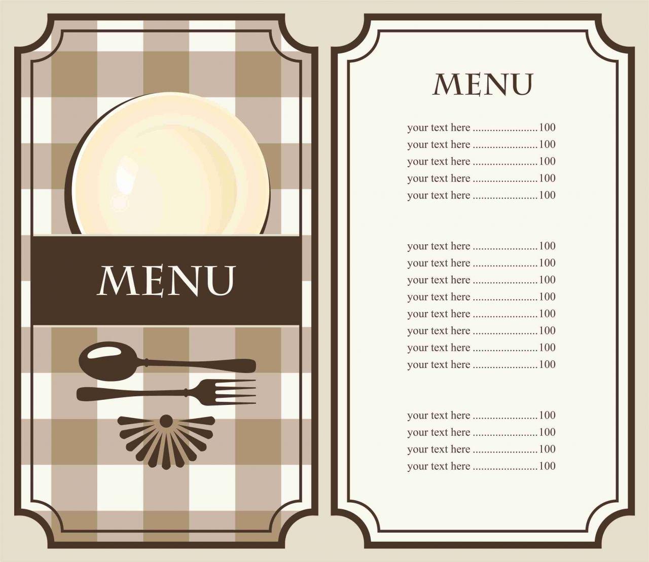Как сделать меню из бумаги своими руками 71