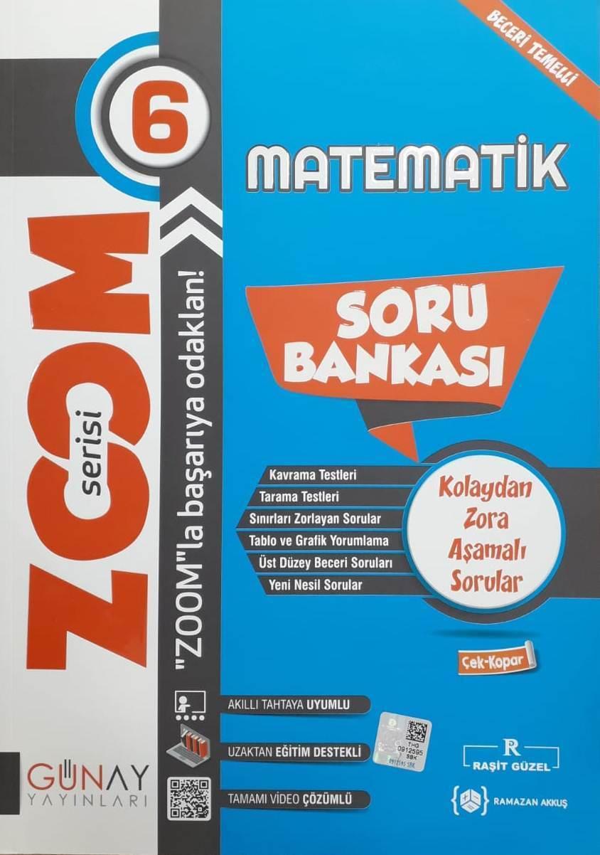 Günay Yayınları 6. Sınıf Matematik Etkinlikli Bumerang Serisi