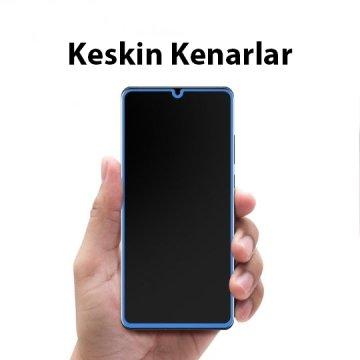 Huawei P30 Lite Cam Ekran Koruyucu, Spigen Full Cover Glass Black