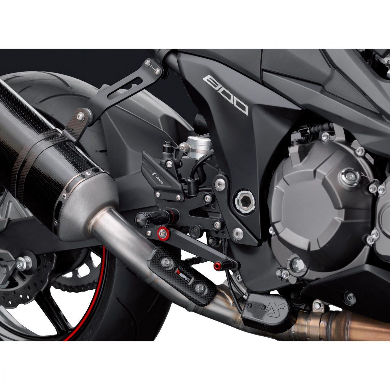 rizoma / リゾマ 正規品 バックステップキットRRC Kawasaki Z800(13-) P&A
