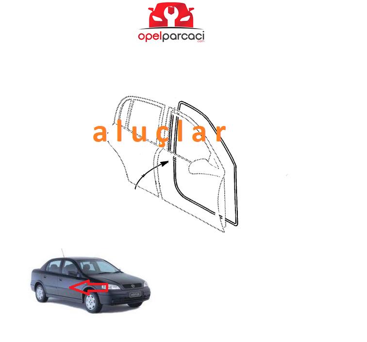 Opel Astra G Ön Kapı Fitili SAĞ ( Sedan - HB 5 Kapılı )