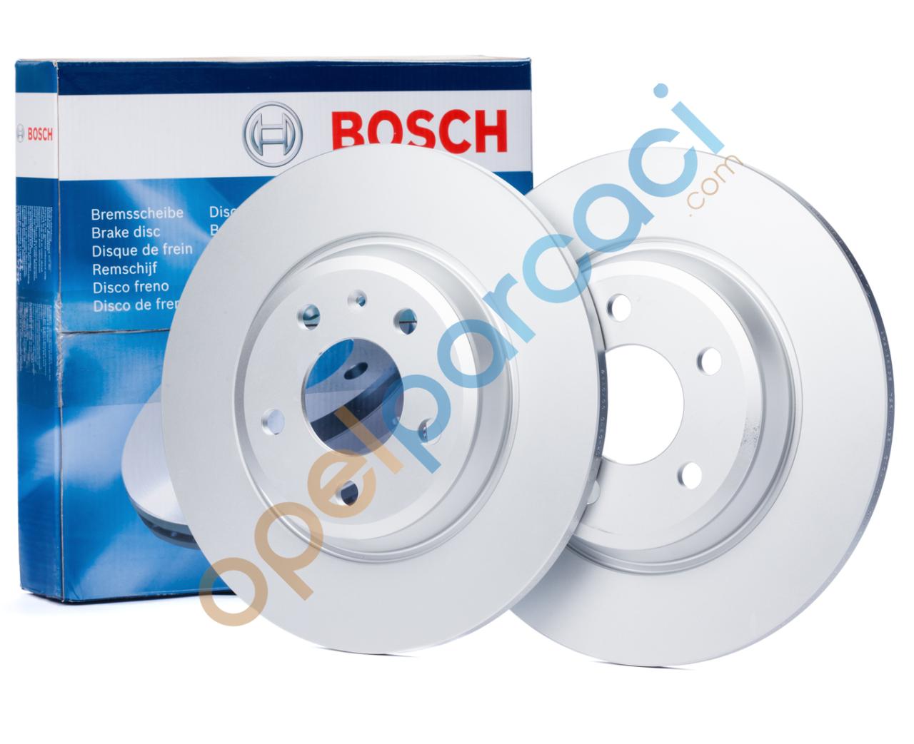 Opel Astra J 1.6 Dizel Arka Fren Disk Takımı Bosch
