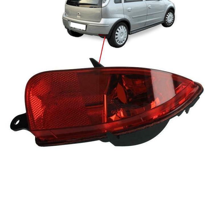 Opel Corsa C Arka Sis Sağ 2004 - 2006
