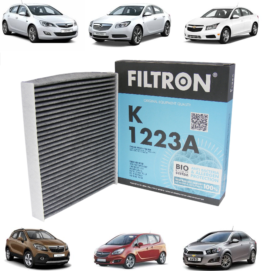 Opel Meriva B Polen Filtresi KARBONLU FILTRON