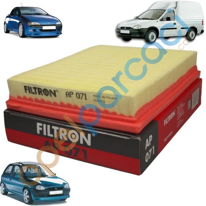 Opel Corsa B - Combo B - Tigra A Hava Filtresi Benzinli FILTRON