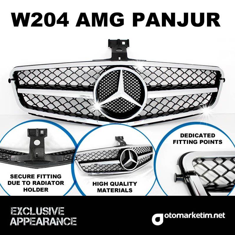 Mercedes Benz C-Class W204 C63 AMG Panjur (2007-2012)