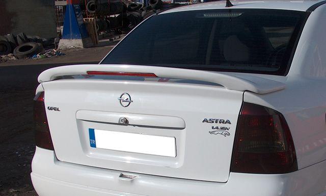 Opel Astra G Sedan Bagaj Spoyleri Boyal? Otomarketim.net