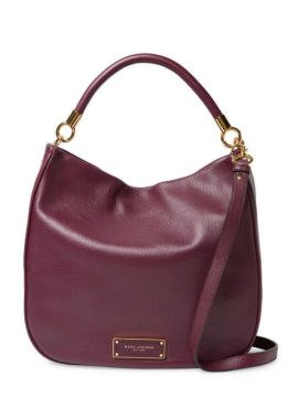 baabc7feccec7 Too Hot to Handle Hobo Bag - Çanta, Bordo - Omuz Çantası - Marc Jacobs