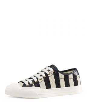 4d24eea6a New Ace Hanging Tiger Leather Low-Top Sneaker - Ayakkabı, Beyaz 41 ...