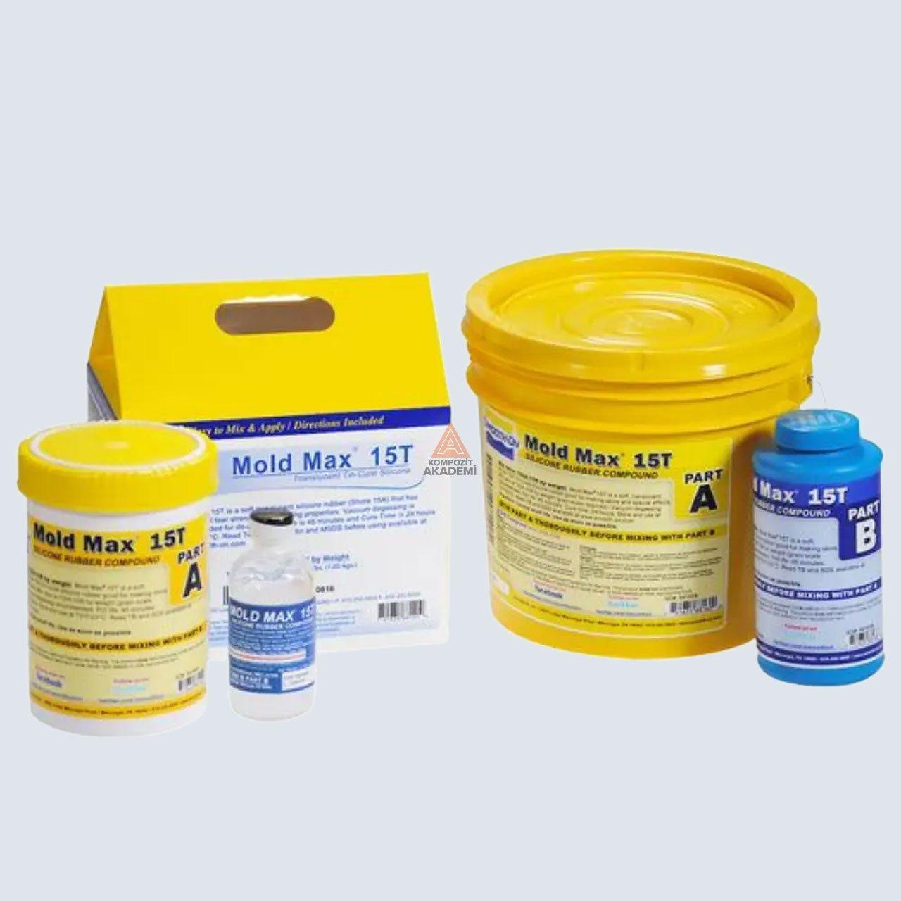 Mold Max 15T Şeffaf Kalıp Silikonu