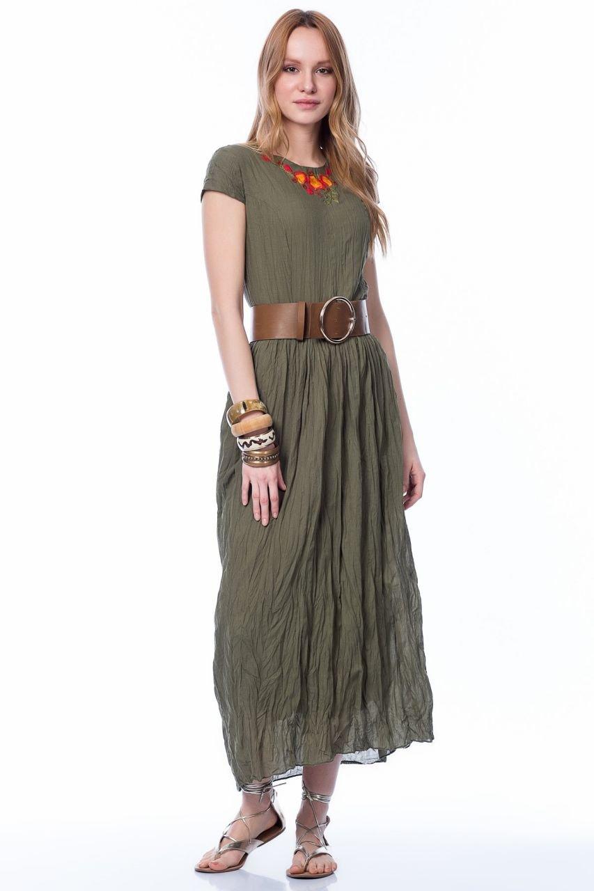 2eed5616eb6f0 Otantik ve Bohem Tarz Bayan Yazlık Elbise Modelleri | Etnik Esintiler