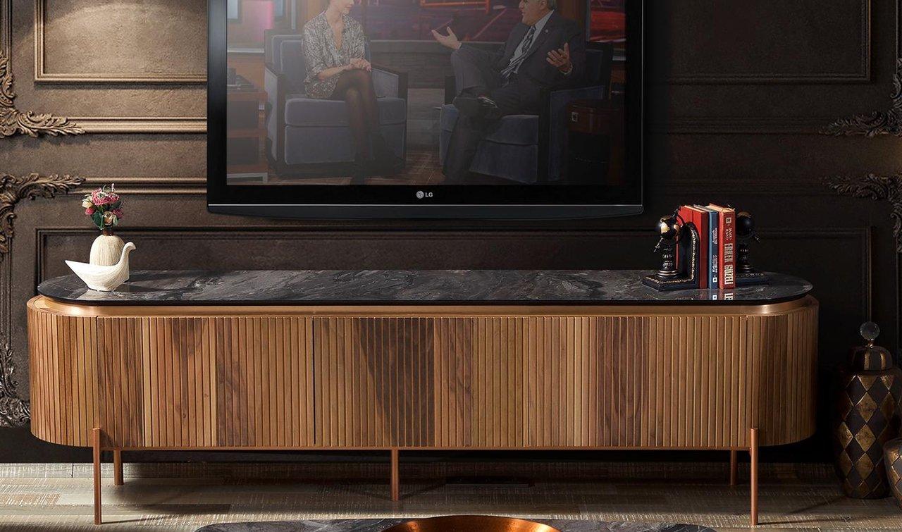 tesla ceviz tv unitesi rmmhome com tr modern tv uniteleri modelleri