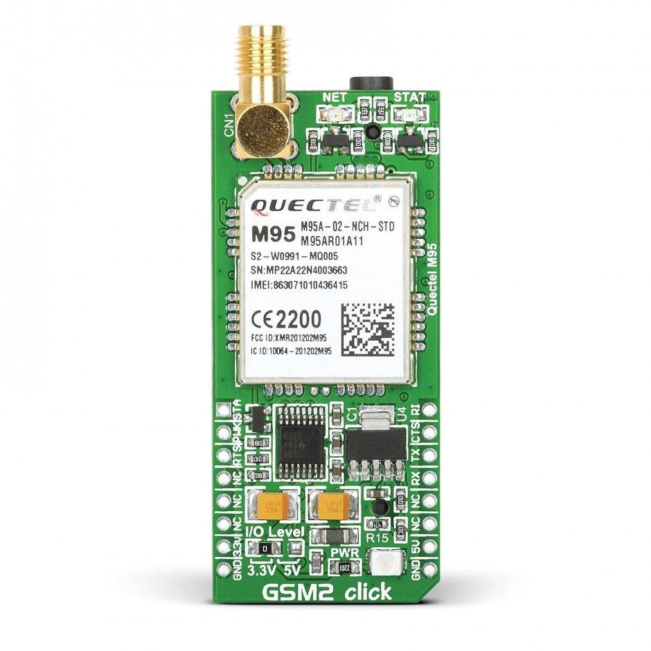 Gsm2 Click Gsm Kartlari Mikroelektronika Elektrovadi Circuit Pic16f628 Rf Remote Buton 433mhz Button