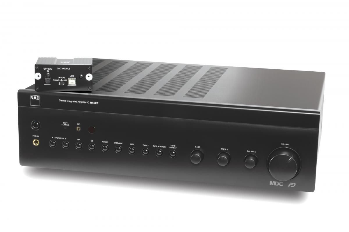 nad c356bee dac stereo integrated amplifier rh srcaudio com Nad C356 DAC Integrated Amplifier C 356BEE