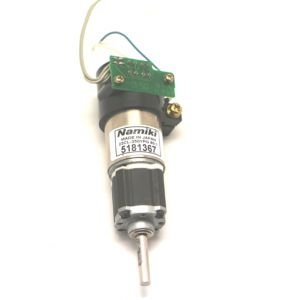 Namiki 22cl 3501pg 12v 120 rpm red kt rl encoderli dc for 120 rpm dc motor