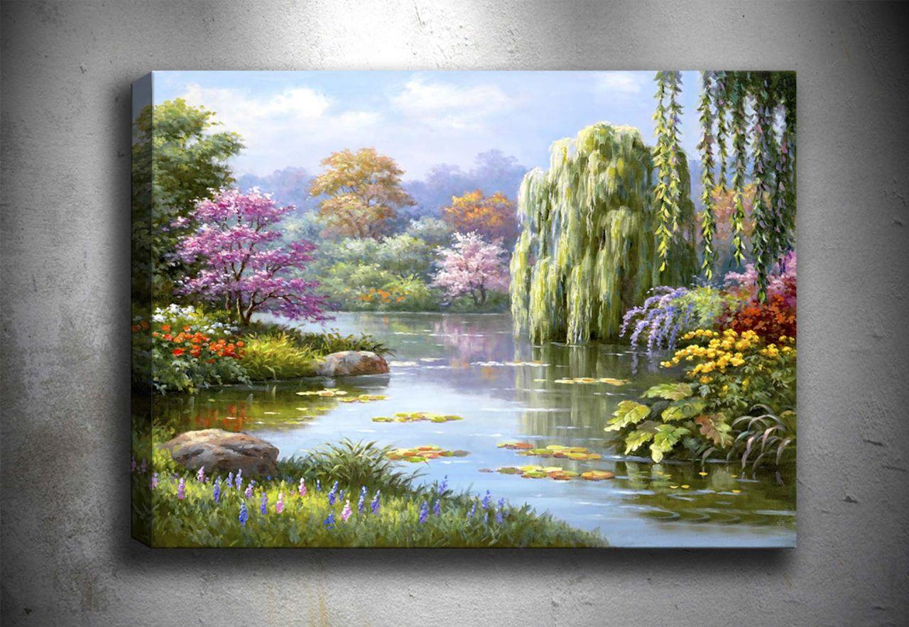 Göl Yağlı Boya Tablo