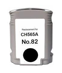 HP 82 CH565AE /CH565A Siyah Uyumlu Kartuş Designjet 111, 510, 800, 815, 820