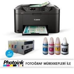 Photoink Mürekkepli Canon Maxify MB2150 Yazıcı ve Dolan Kartuş Sistemi