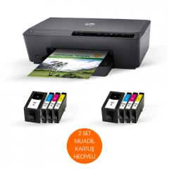MUADİL KARTUŞLU HP PRO 6230 e-printer YAZICI,(HP E3E03A) 2 SET MUADİL KARTUŞ HEDİYELİ