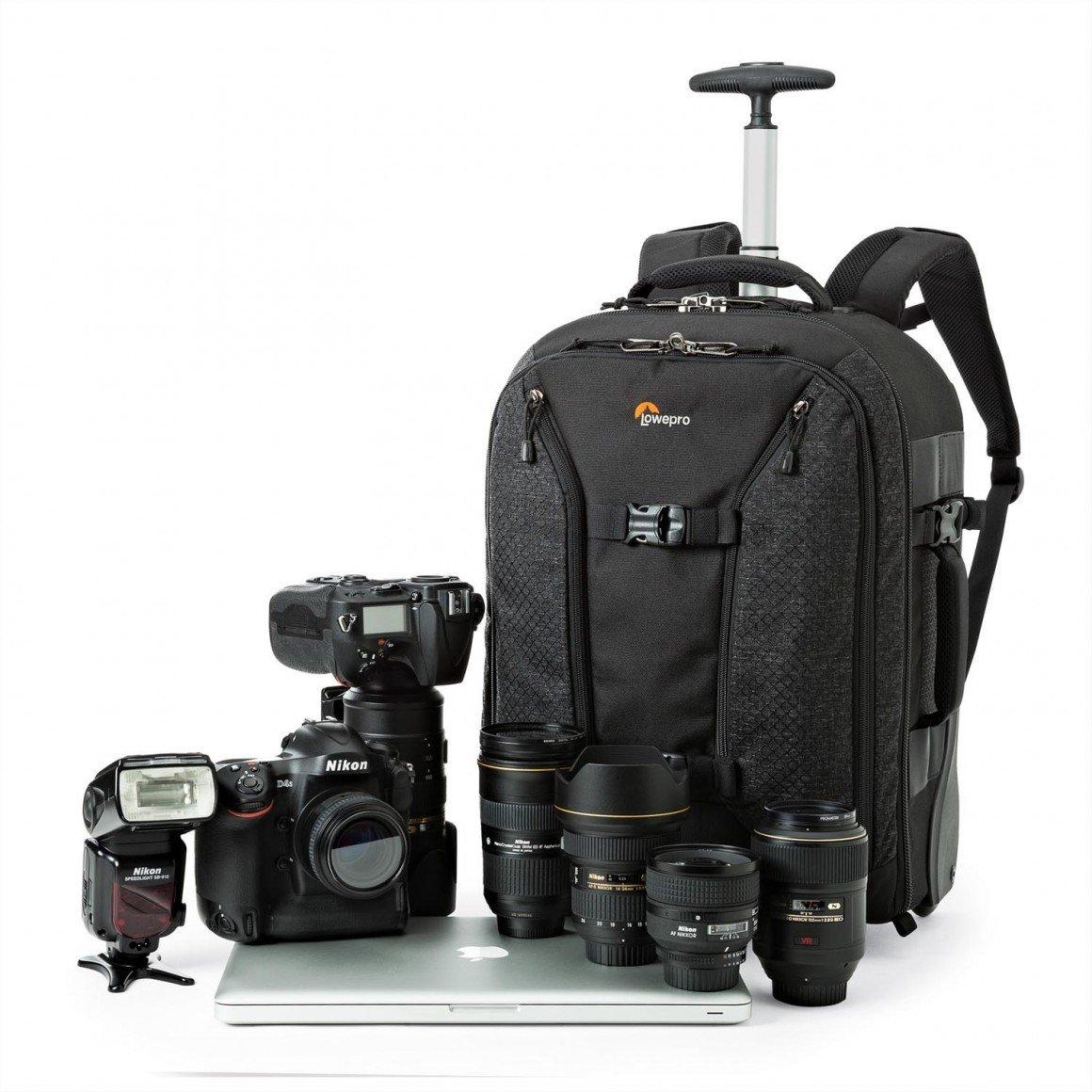 Lowepro Toploader Zoom 55 Aw Ii Black Pro Runner Rl X450