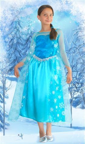 frozen elsa kostumu