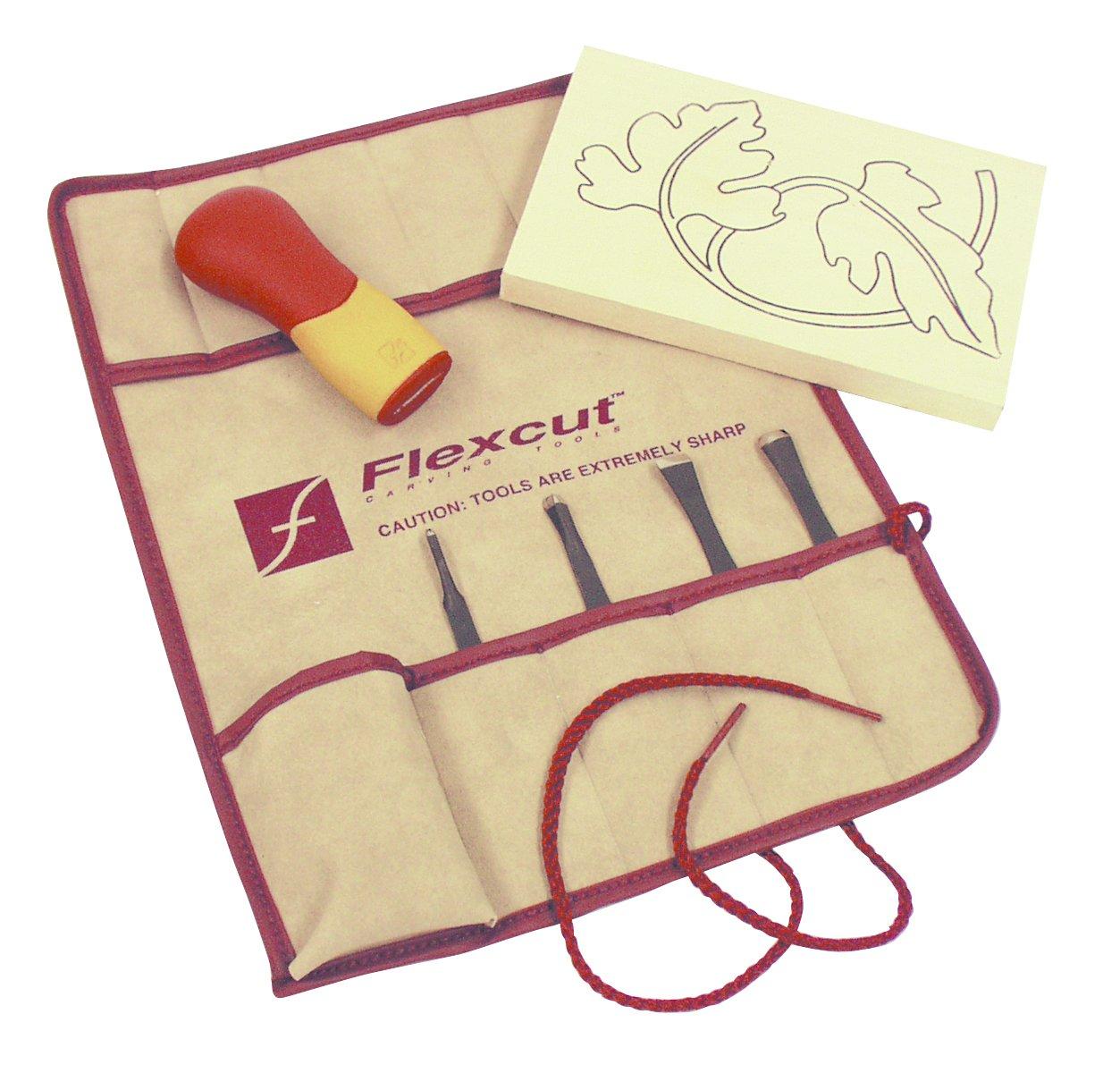 Flexcut Değiştirilebilir Uçlu Oyma Seti - 5 Parça