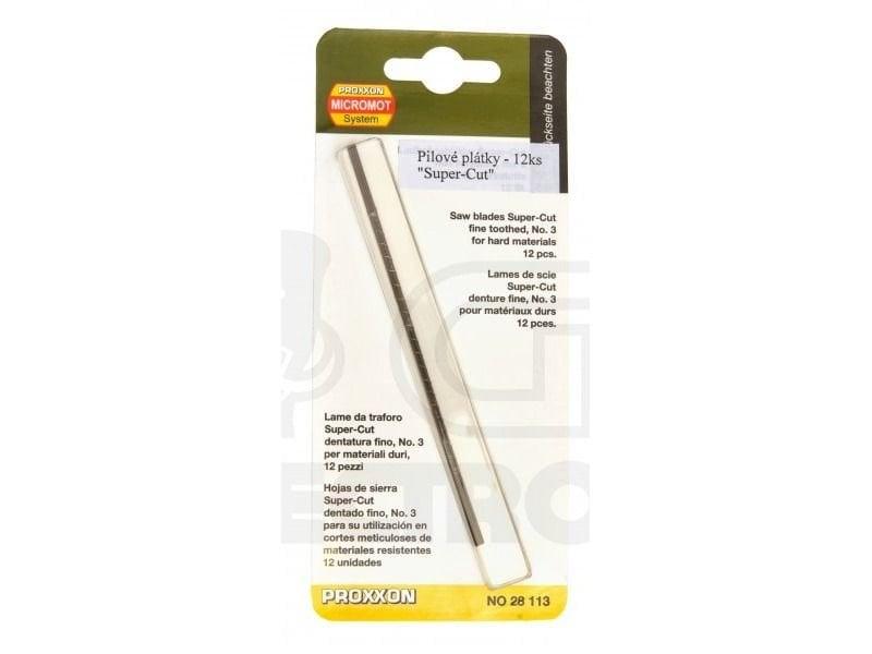 Proxxon Kıl Testere Bıçağı 12 Adet 28113